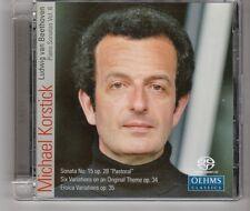 (HH560) Michael Korstick, Ludwig Van Beethoven, Piano Sonatas Vol 6 - 2009 CD
