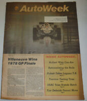AutoWeek Magazine Patrick Depailler Villeneuve Wins GP October 1978 123014R