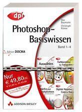 Photoshop-Basiswissen Band 1-4 (4 Bde.) Addison-Wesley#Edition DOCMA- DPI Grafik