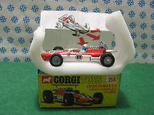 Vintage  -  LOTUS  CLIMAX  F1                -  Corgi  Toys  158