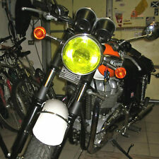 TRIUMPH BONNEVILLE T100  YELLOW  HEADLIGHT PROTECTOR