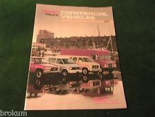 MINT ORIGINAL 1991 GMC COMMERCIAL TRUCKS SALES BROCHURE 24 PAGE (BOX 319)