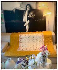 Boutis Marseillais Ancien Soie Brochée Lin Piquée Antique Victorian Silk quilt