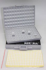 2 BOXALL enclosures surface mount resistor capacitor Organizer 0805 0603 0402