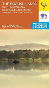 Lake District OS Explorer map OL7 The English Lakes - Sout... by Ordnance Survey