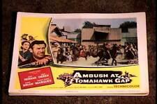AMBUSH AT TOMAHAWK GAP 1953 LOBBY CARD #4  NATIVE AMERICAN INDIAN WESTERN