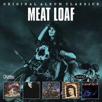 MEAT LOAF - ORIGINAL ALBUM CLASSICS 5 CD NEW