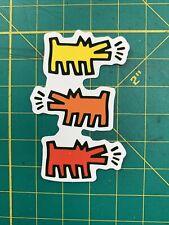 Keith Haring sticker print