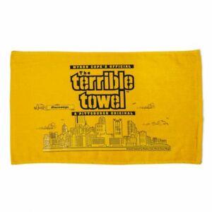 Pittsburgh Steelers Skyline Terrible towel ( JUST RELEASED 2021 SEASON )