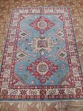 Handmade 4' x 6' Bonus Room Carpet Area Rug Kazak Hard-wearing