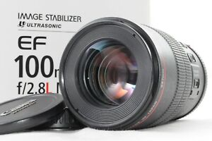 [MINT] Canon EF 100mm F/2.8L Macro IS USM Lens from JAPAN L259