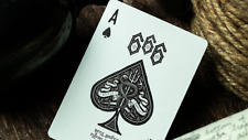 666 Dark Reserves (Silver Foil) Playing Cards Deck Brand New