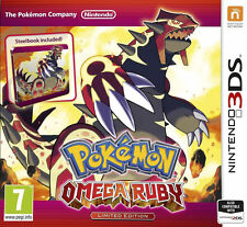 Pokemon: Omega Ruby (Nintendo 3DS, 2014)