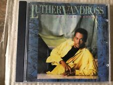 LUTHER VANDROSS - GIVE ME THE REASON - CD ALBUM - SO AMAZING / STOP TO LOVE +
