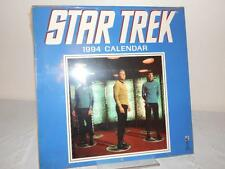 STAR TREK 1994 CALENDAR New Still in Shrink Wrap Collectible Kirk Spock Bones