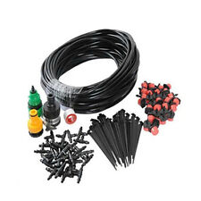10M Micro Drip Irrigation System Plant Automatic Self Watering Garden Hose Kits