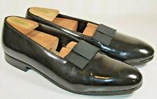 Crockett & Jones Opera Pumps Black Patent Leather UK Size 8.5 E US Size 9 D