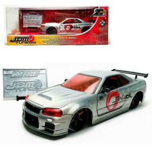 1:24 2002 Nissan Skyline R34 GTR (GT-R) -- 20th Anniversary JADA