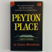 Peyton Place Grace Metalious Vintage Paperback Dell 1957 Printing Banned Book