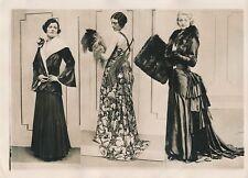 MODE LONDRES c. 1930 - Jeunes Femmes Élégantes Jolies Robes Angleterre - PRM 659