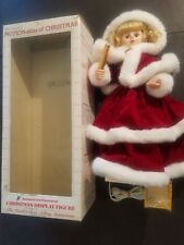 """WORKING 1990 Telco-24""""-Motionette Female Santa-Animated-Christmas-Display In Box"""