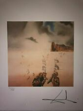 Salvador Dali Lithography 50 x 65 Bfk Rives Stamp dry Signed pencil 70
