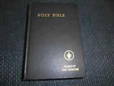 Old Vtg 1954  Religious Book THE HOLY BIBLE Placed By THE GIDEONS  REFERENCE ED.
