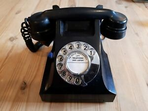 1957 VINTAGE AEP BAKELITE TELEPHONE