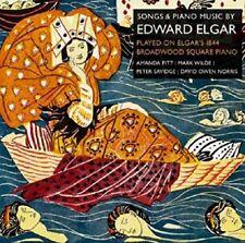 NORRIS/PITT/WILDE/+ - SONGS & PIANO MUSIC BY EDWARD ELGAR 2 CD NEW+ ELGAR,EDWARD