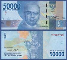 INDONESIEN / INDONESIA 50.000 Rupiah 2016  UNC  P.NEW
