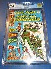Sgt. Fury and His Howling Commandos #81 Silver age CGC 9.0 VFNM Beauty Wow War
