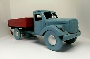 Vintage USSR Tin Toy Truck Rare Soviet Toy of 60-70s Restored. Rare!!!
