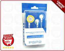 PSP2 Headphones With Remote Control. Suit Playstation Portable PSP-2000 series