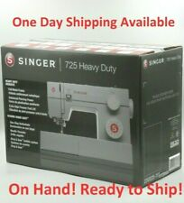Singer Sewing Machine HD 725 Heavy Duty w/ 23 Built-in Stitches 4423 Accessories
