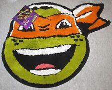 "TMNT Teenage Mutant Ninja Turtles Accent  Rug / Bath Mat  18"" X 24""  New!"