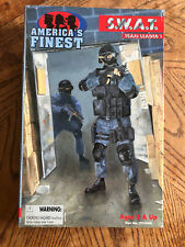 "America's finest swat team leader 1 12"" action figure"