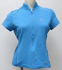Pearl Izumi POWDER BLUE SUPERSTAR Cycling Jersey Ladies SMALL New textured S