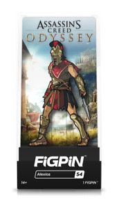 """FiGPiN #54 """"Assassin's Creed Odyssey"""" Alexios Enamel Pin 