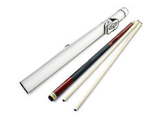 Champion ST 2-Shaft Gemini Maple Pool Cue Stick, White Pool Case, Cuetec Glove