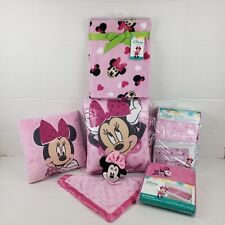 Minnie Mouse: Bows are Best 8 Piece Crib Bedding Set by Disney Baby