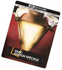 SHAZAM Steelbook Blu-ray 4K Blu-ray 3D Blu-ray BO Edition FNAC (NEUF)