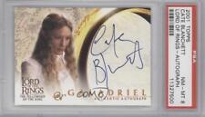 2001 Autographs #CABL Cate Blanchett as Galadriel PSA 8 NM-MT Auto Card e6y