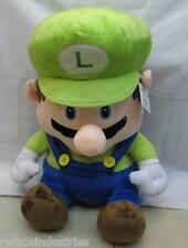 Super Mario Bros - Sitting Luigi Plush - 18 inch Plush Toy