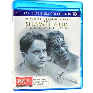 The Shawshank Redemption Tim Robbins Prison Escape Blu Ray RB Good Condition