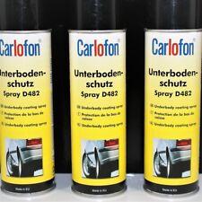 3x 500ml. Unterbodenschutz Spray D482 von Carlofon
