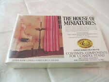 1970's X-Acto Miniatures Doll House Furniture Queen Anne Candle Stand #40013 NIP