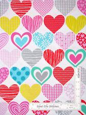 Love Heart Romance Valentine White Cotton Fabric Studio E Big Love By The Yard