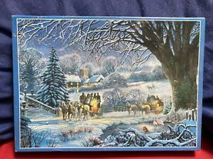 Winter Coaches By Steve Crisp 1000 Piece Jigsaw Puzzle New And Sealed