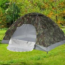 Tente de Lancer Camping Tente de Trekking Camouflage Imperméable 2/3 personnes