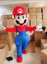 2020 Super Mario Mascot Costume Cosplay Adult Birthday Party Fancy Dress Outfits